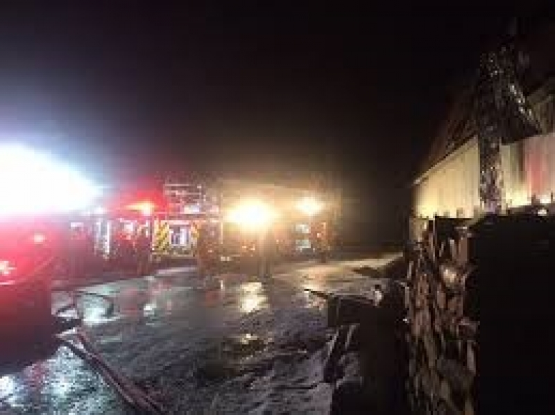 Barn Fire In South Londonderry